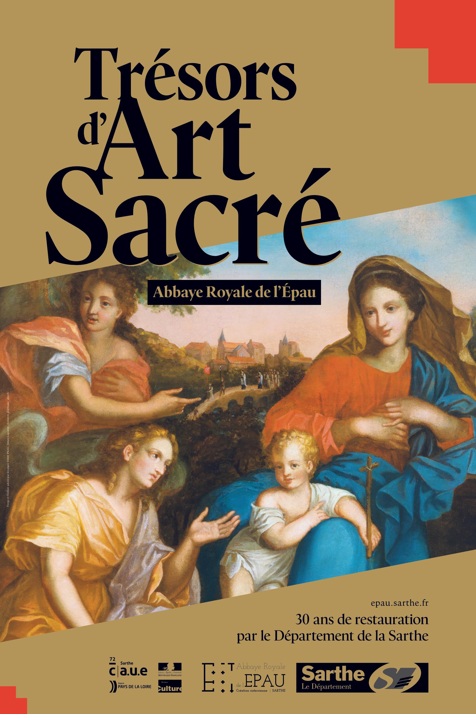 Affiche Trésors d'Art Sacré